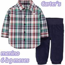Roupinha De Bebê Importada Carters Menino/menina 6 A 12meses