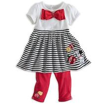 Vestido E Legging 101 Dalmatas Disney Baby Tam 18 A 24 Meses
