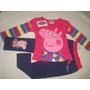 Peppa Pig Conjunto Calça + Blusa (pronta Entrega)