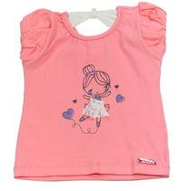 Camiseta Feminina Bailarina - Caracoles - Albarella Infantil