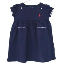 Vestido De Menina Ralph Lauren Autentico 12 E 24 Meses