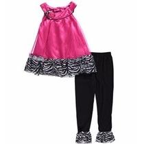 Conjunto Infantil Menina Blusa E Calça