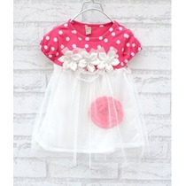 Vestido Bebê Recém Nascido Menina Infantil- Frete 10,00