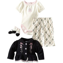 Conjunto 2 3 Peças Bebê Calvin Klein Puma Carters Gymboree