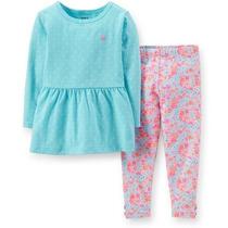 Conjunto Carters 2 Peças (blusinha + Calça Legging) - Menina