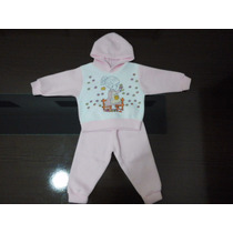 Conjunto Moletom Soft Bebê Menina P/ Enxoval