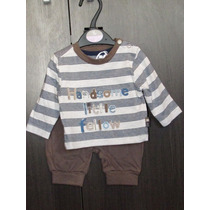 Conjunto Menino Blusa E Calça - Rn / Nb - 44/50cm - 3,5kg