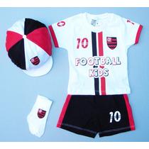 Conjunto Flamengo Bebê, Temos Saída Maternidade Do Mengão