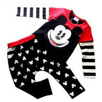 Conjunto Mickey Mouse Bebe Infantil Menino Inverno P Entrega