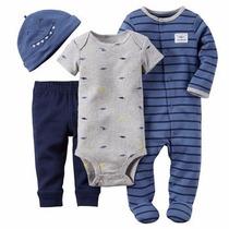 Conjunto Maternidade - Carters - 4 Peças - Menino