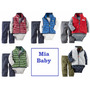 Conjunto Kit Carters Inverno Fleece Menino Bodies Carter