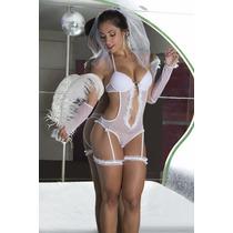 Noiva Sexy Fantasia (pronta Entrega) Tam G