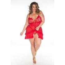 Camisola Luxuria Plus Size - Pimenta Sexy - Frete R$16,00