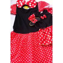 Minnie Fantasia Minnie Mãe E Filha 1 Ano E Tamanho M