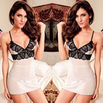 Linda Sexy Vestido Sensual Fantasia Babydoll Importado