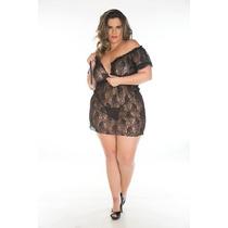 Camisola Ciganinha Plus Size - Pimenta Sexy - Frete R$16,00