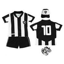 Kit Torcedor Baby Do Botafogo Torcida Baby