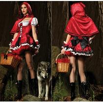 Fantasia Chapeuzinho Vermelho Pronta Entrega Vários Modelos