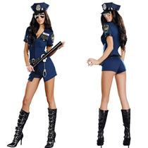 Fantasia Feminina Policial Sexy