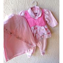 Saída Maternidade Menina Vestido