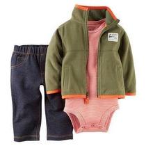 Conjunto Masculino Bebê Infantil Importado - Carters