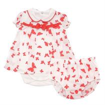 Conjunto Para Bebê Body E Tapa Fraldas Borboletas - Noruega