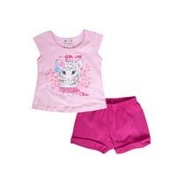 Conjunto Blusa E Short Tigre Brandili Ref. 22458 Tam. P M G