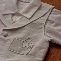Roupa Social Para Meninos Bebês Batizado - 3 Pç - 01220023