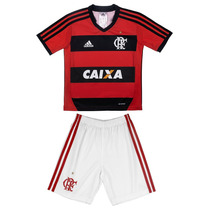 Kit Bebe Flamengo I - Uniforme Original Adidas - V2mshop