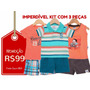 Brandili - Kit 3 Conjuntos Inf. - Tam M - Frete Único - R$10