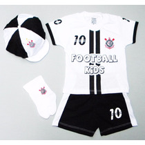 Conjunto Bebê Corinthians