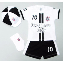 Conjunto Corinthians Bebe Infantil