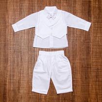 Roupa Social Meninos Bebês Para Casamento/batizado 0122001a