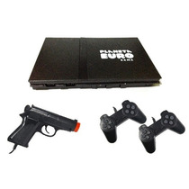 Video Game Polystation/point Jogos C/2 Controles E 1 Pistola
