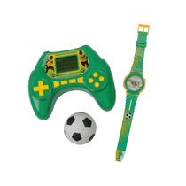 Mini Game De Futebol + Super Bolinha + Relógio Digital.