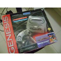 Sega Genesis Na Caixa Americano Versão Sonic Spinball Raro