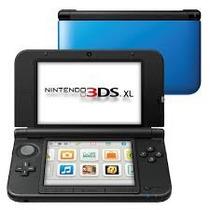 Nintendo 3ds Xl Azul Semi Novo