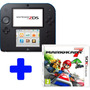 Nintendo 2ds Portugues + Jogo Mario Kart 7 Bundle Original