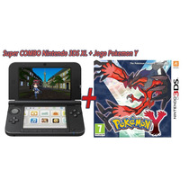 Nintendo 3ds Xl + 01 Jogo Pokemon Y Ou X Orig Frete Barato