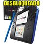 Nintendo 2ds Desbloqueado Kit 8gb + Brindes! Kit Completo