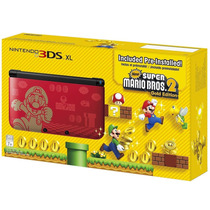 Nintendo 3ds Xl Português + Super Mario Bros 2 Original