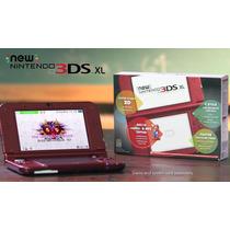 New Nintendo 3ds Xl + Carregador Bivolt + 400 Jogos + 16gb