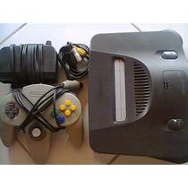 Console Nintendo 64 N64 Completão + Jogo De Brinde R$150,00!