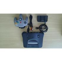 Nintendo 64 - Controle - Cabo Av - Fonte