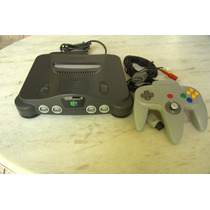 Nintendo 64 Completo + Controle Original + 1 Jogo Brinde