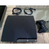 Ps3 - Slim 320 Gb + Hdm1 + Jogo Brinde - Novinho ,