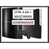 Downgrade Ps3 Fat Slim 4.66 P/ 3.55 + Desbloqueio + Limpeza