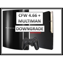 Downgrade Ps3 Fat Slim 4.66 P/ 3.55 + Desbloqueio + Limpeza