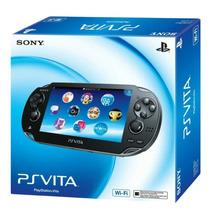Ps Vita - Psvita Wi-fi + Memory Card 16gb Pronta Entrega