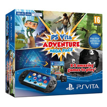 Sony Ps Vita Slim C/ 8gb E Mega Pack De 5 Jogos + Uncharted